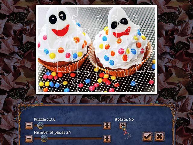 Capture D'écran Du Jeu 3 Puzzle de Fête 2 Halloween