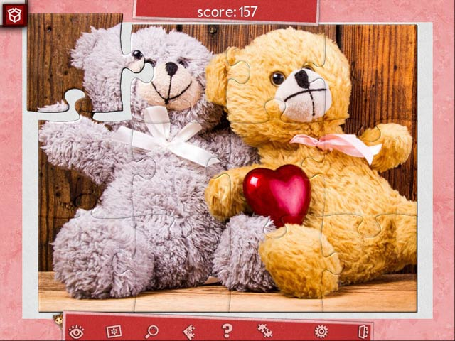 Holiday Jigsaw Valentine's Day 3 img