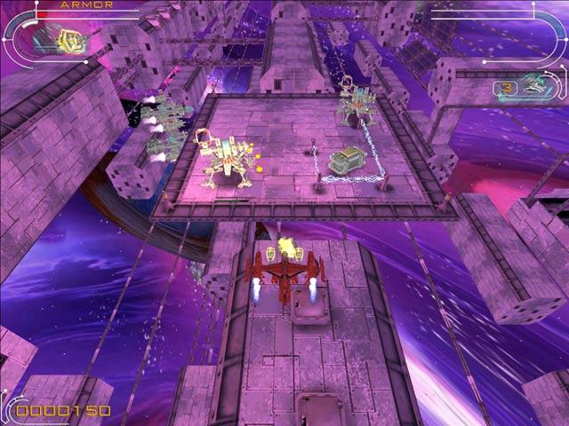 Capture D'écran Du Jeu 1 Hyperspace Invader