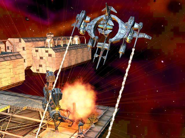 Capture D'écran Du Jeu 2 Hyperspace Invader