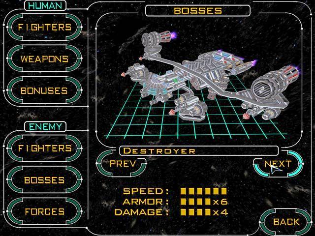 Capture D'écran Du Jeu 3 Hyperspace Invader