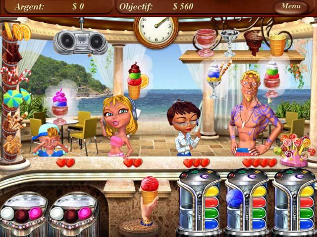 Capture D'écran Du Jeu 1 Ice Cream Mania