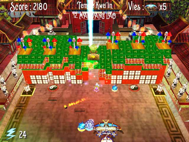 Capture D'écran Du Jeu 3 Incrediball - The Seven Sapphires