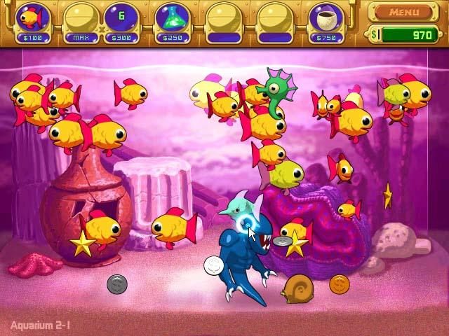 Capture D'écran Du Jeu 2 Insaniquarium
