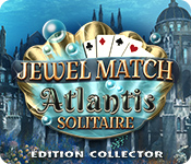 Feature Jeu D'écran Jewel Match Atlantis Solitaire Édition Collector