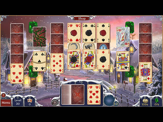 Jewel Match Solitaire: Winterscapes img
