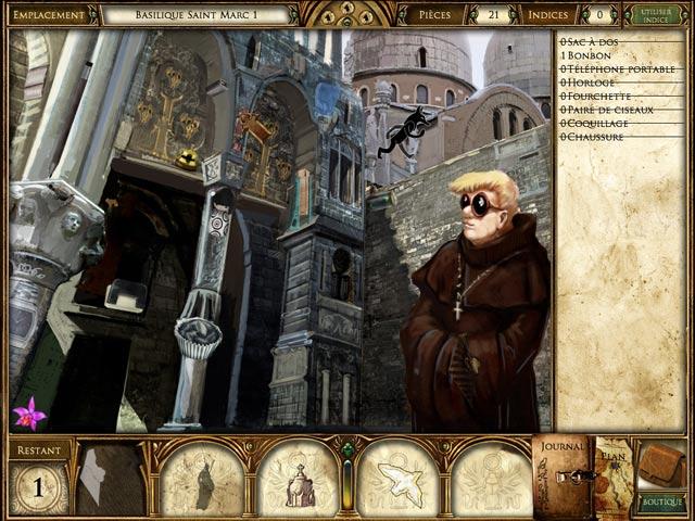 Capture D'écran Du Jeu 2 La Malédiction du Pharaon: Le Secret de Napoléon