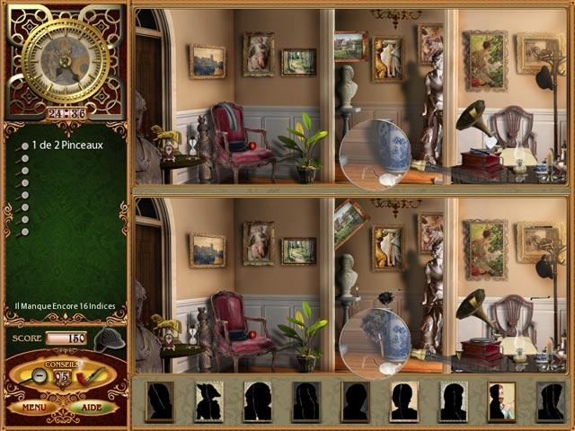 Capture D'écran Du Jeu 1 Les Affaires Perdues de Sherlock Holmes