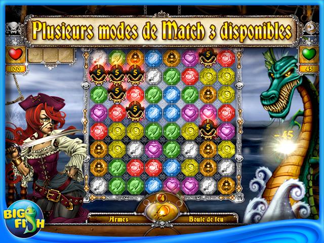 Capture d'écran de Les Aventures de Mary Ann: Les Pirates de la Chance