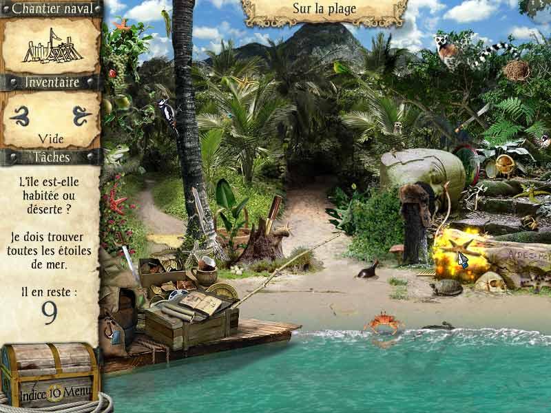 Vidéo de Robinson Crusoe