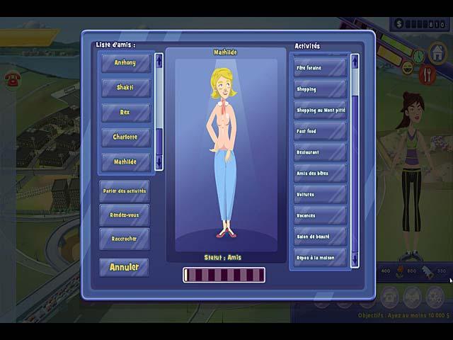 Capture D'écran Du Jeu 3 Life Quest® 2: Métropoville