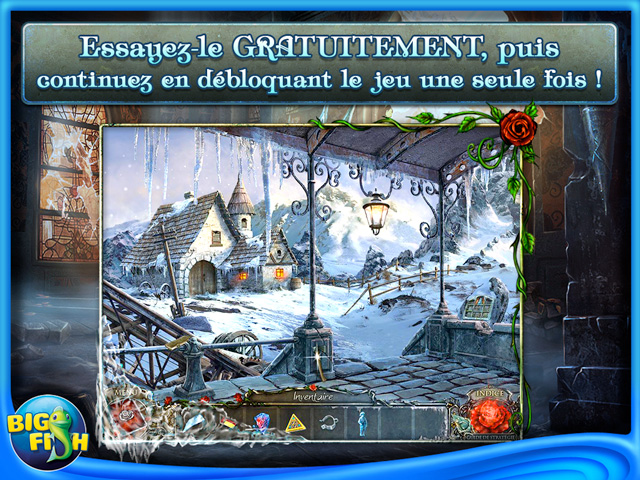 Capture d'écran de Living Legends: La Rose de Glace Edition Collector