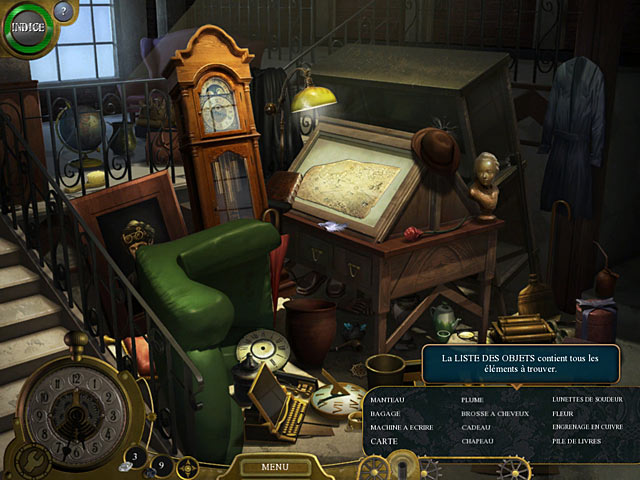 Capture D'écran Du Jeu 1 Lost in Time: The Clockwork Tower