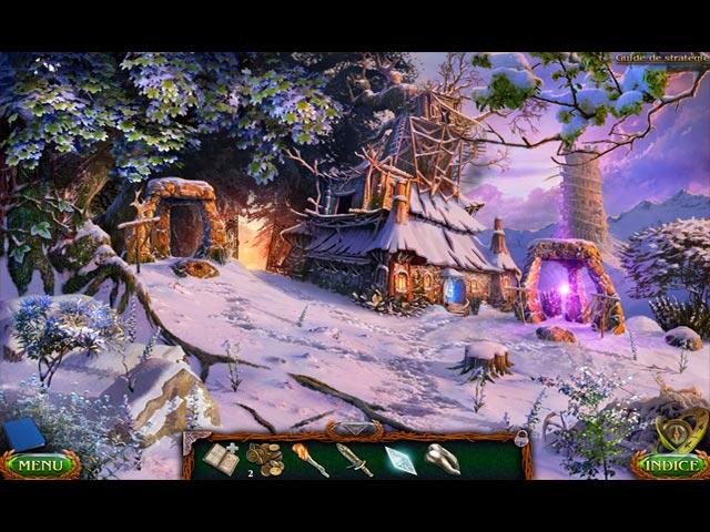 Capture D'écran Du Jeu 2 Lost Lands: Terres Gelées Édition Collector