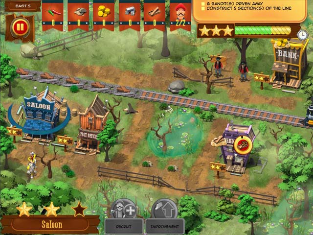 Lucky Luke: Transcontinental Railroad img