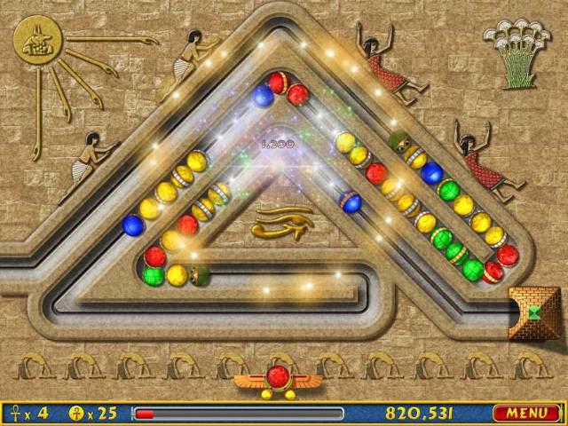 Capture D'écran Du Jeu 2 Luxor