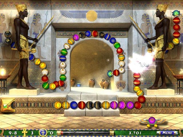 Capture D'écran Du Jeu 2 Luxor 2