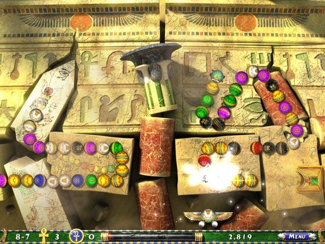 Capture D'écran Du Jeu 3 Luxor 2