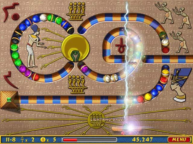 Capture D'écran Du Jeu 3 Luxor Amun Rising