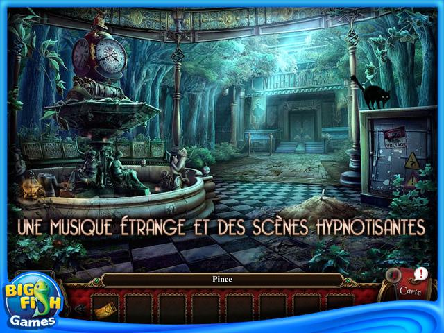 Capture d'écran de Macabre Mysteries: La Malédiction du Théâtre Nightingale Edition Collector
