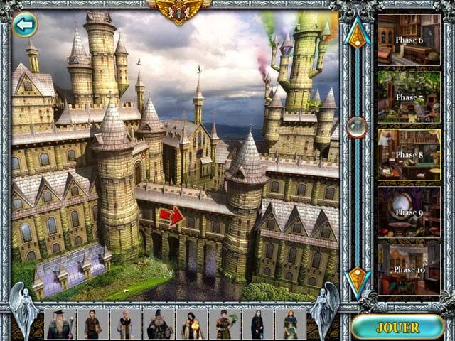Capture D'écran Du Jeu 3 Magic Academy