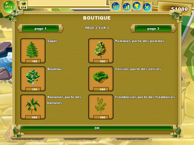 Capture D'écran Du Jeu 3 Magic Seeds