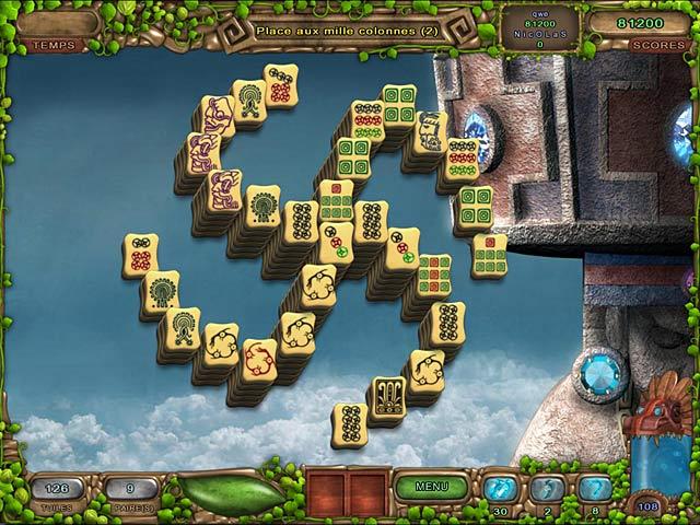 Capture D'écran Du Jeu 1 Mahjong: L'Héritage des Toltèques