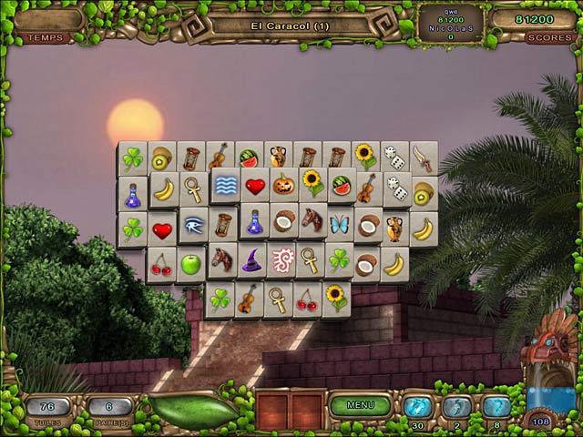 Capture D'écran Du Jeu 2 Mahjong: L'Héritage des Toltèques