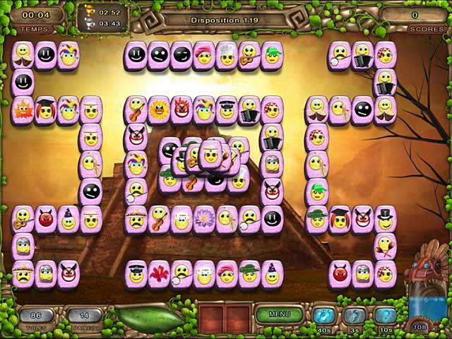 Capture D'écran Du Jeu 3 Mahjong: L'Héritage des Toltèques