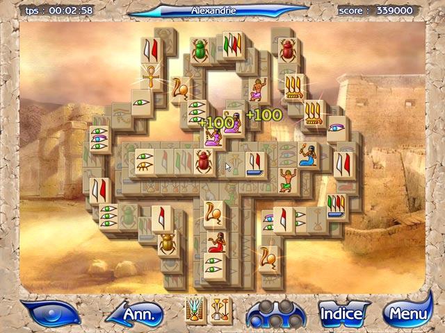 Capture D'écran Du Jeu 2 Mahjongg Artifacts