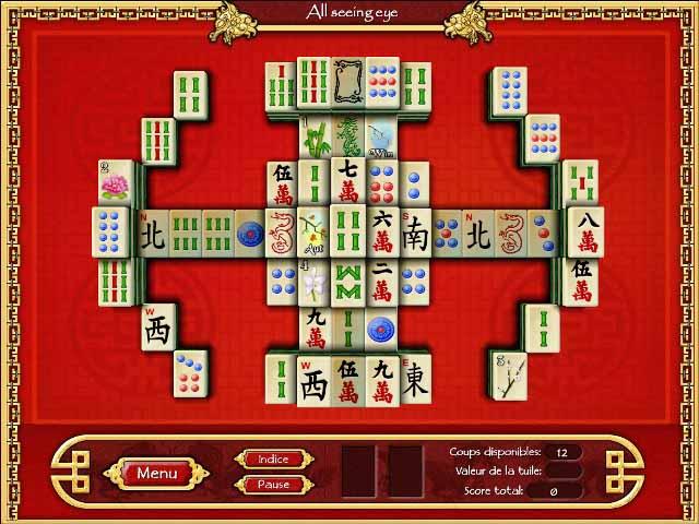 Capture D'écran Du Jeu 1 Mahjong World