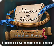 Memoirs of Murder: Bienvenue à Hidden Pines Édition Collector