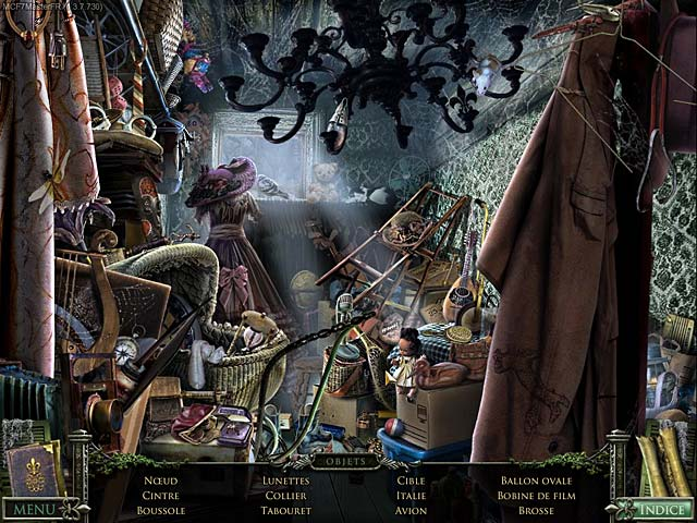 Capture D'écran Du Jeu 2 Mystery Case Files ®: 13th Skull
