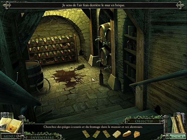 Capture D'écran Du Jeu 3 Mystery Case Files ®: 13th Skull