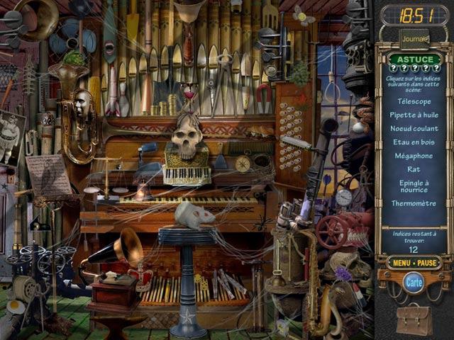 Capture D'écran Du Jeu 1 Mystery Case Files: Ravenhearst