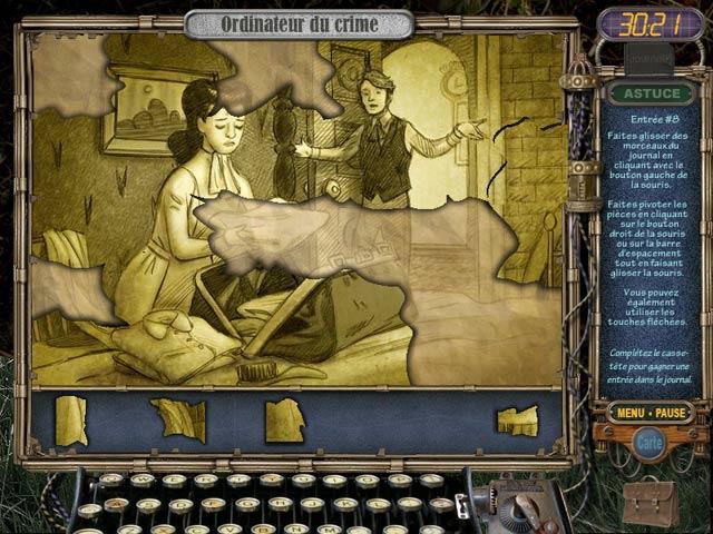 Capture D'écran Du Jeu 3 Mystery Case Files: Ravenhearst
