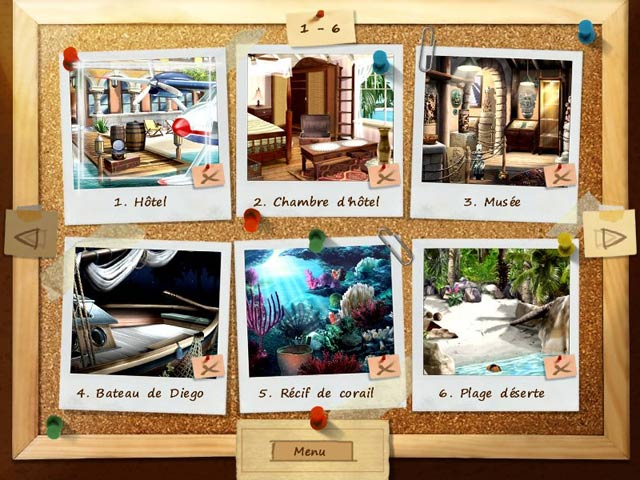 Capture D'écran Du Jeu 3 Mystery Stories: Island of Hope