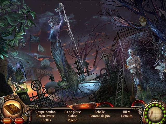 Capture D'écran Du Jeu 1 Nightfall Mysteries: L'Asile Oublié