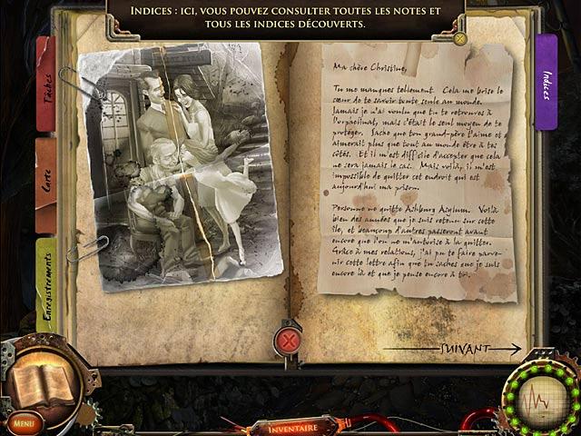 Capture D'écran Du Jeu 3 Nightfall Mysteries: L'Asile Oublié