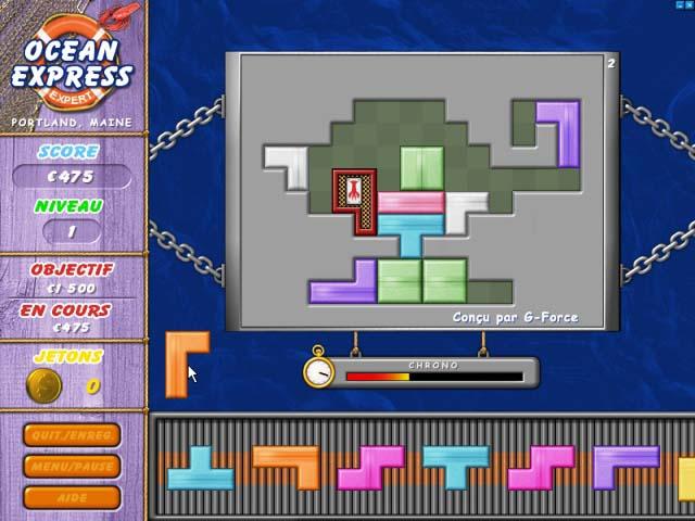 Capture D'écran Du Jeu 1 Ocean Express