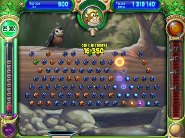 Capture D'écran Du Jeu 3 Peggle Deluxe