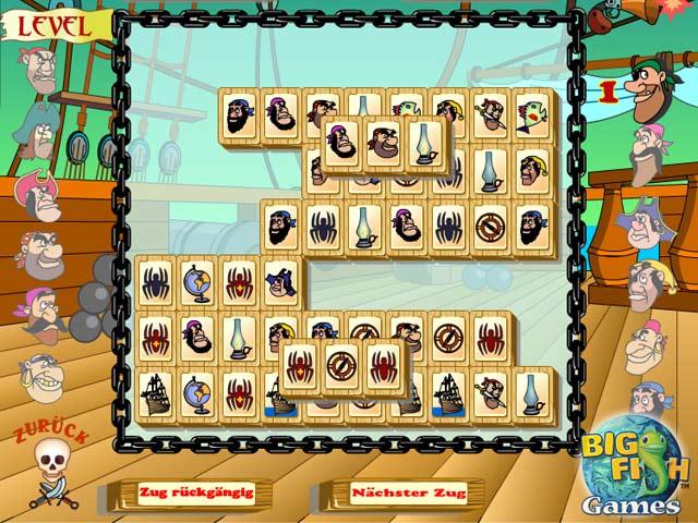 Capture D'écran Du Jeu 1 Pirate Jong