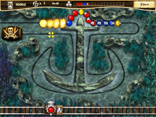 Capture D'écran Du Jeu 2 Pirate Poppers