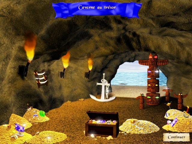 Capture D'écran Du Jeu 3 Pirate Poppers