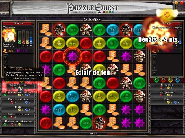 Capture D'écran Du Jeu 1 Puzzle Quest