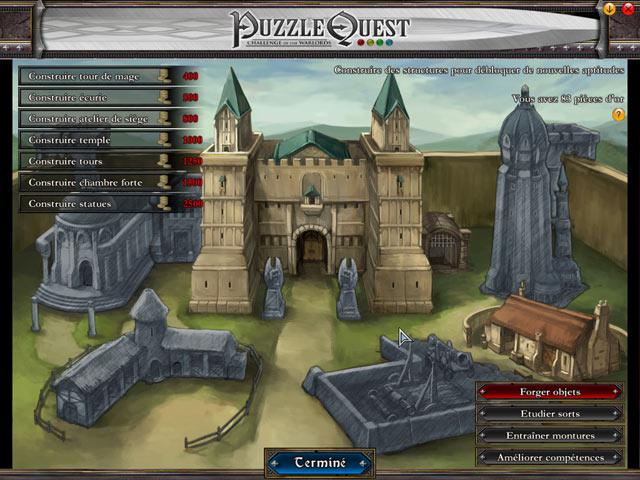 Capture D'écran Du Jeu 2 Puzzle Quest