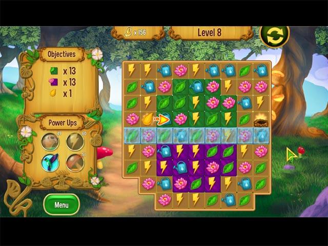 Capture D'écran Du Jeu 1 Queen's Garden