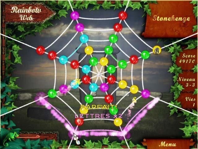 Capture D'écran Du Jeu 2 Rainbow Web