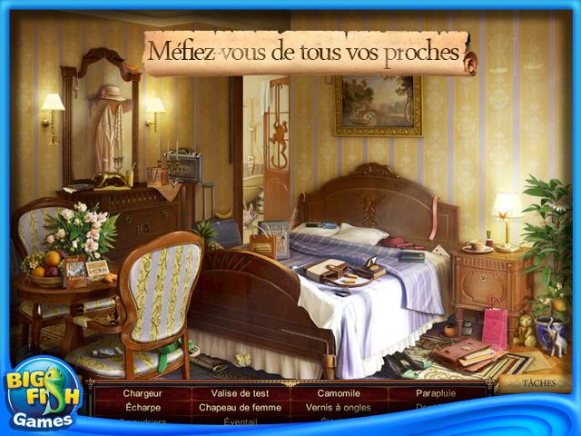 Capture d'écran de Rhianna Ford & La Lettre de Léonard de Vinci