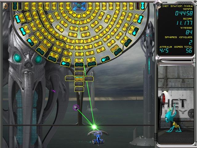 Capture D'écran Du Jeu 3 Ricochet: Infinity